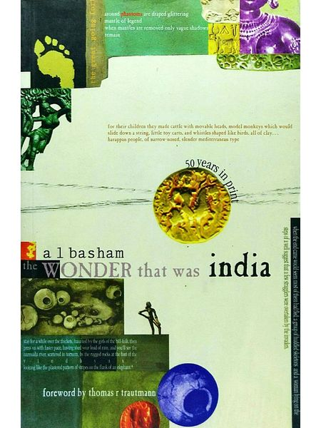 The Wonder That Was India By A L Basham-(English)
