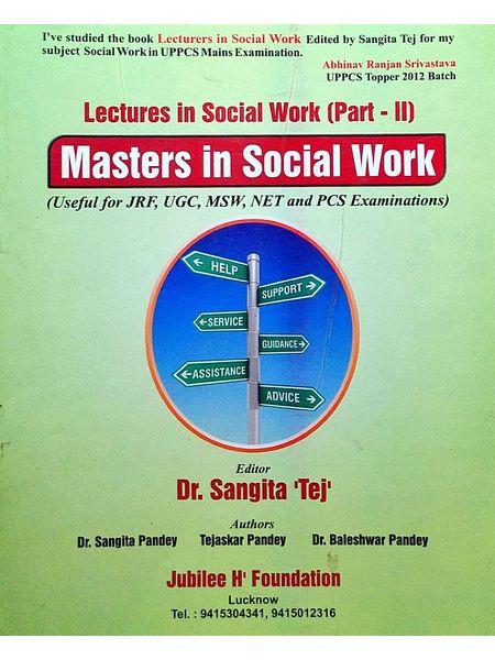 Masters In Social Work By Dr Sangita Tej-(English)