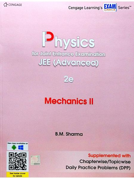 Physics For Joint Entrance Examination Jee Advanced Mechanics 2 By B M Sharma-(English)