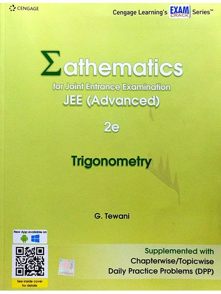 Mathematics For Joint Entrance Examination Jee Advanced Trigonometry By G Tewani-(English)