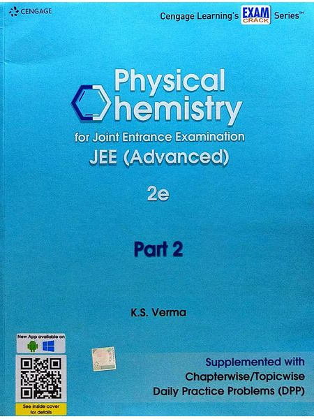 Physical Chemistry For Joint Entrance Examination Jee Advanced Part 2 By K S Verma-(English)