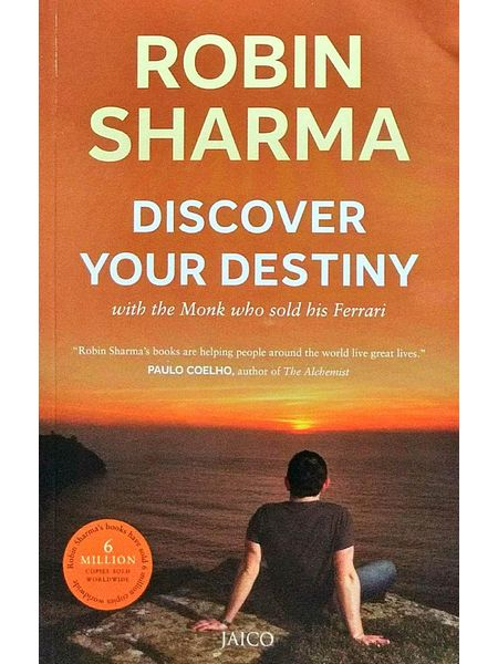 Discover Your Destiny With The Monk Who Sold His Ferrari By Robin Sharma-(English)