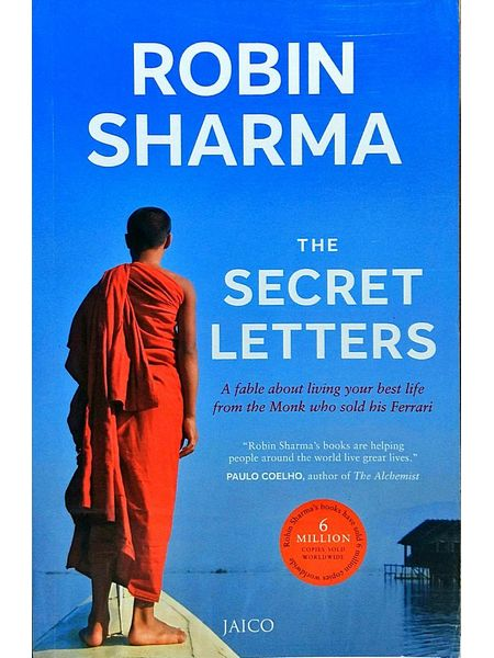 The Secret Letters Book By Robin Sharma-(English)