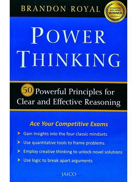 Power Thinking By Brandon Royal-(English)
