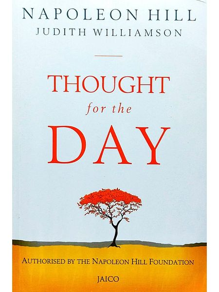 Thought For The Day By Napoloen Hill, Judith Williamson-(English)