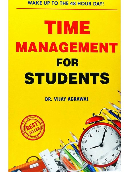 Time Management For Students By Dr Vijay Agrawal-(English)