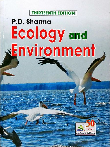 Ecology And Environment By P D Sharma-(English)
