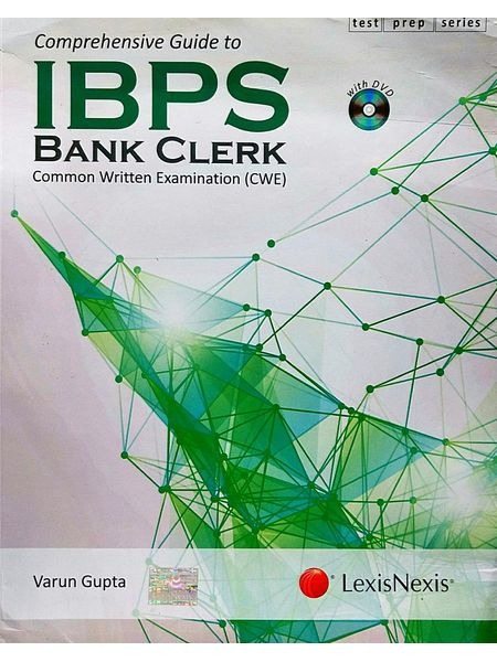 Comprehensive Guide To Ibps Bank Clerk Common Written Examination By Varun Gupta-(English)