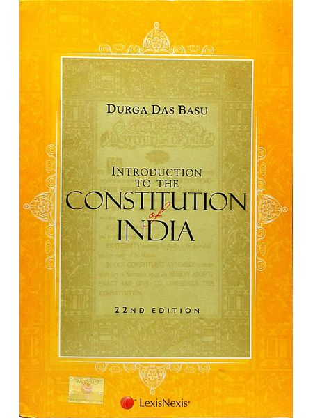 Introduction To The Constitution Of India By Durga Das Basu-(English)