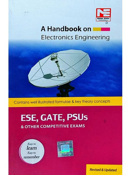A Handbook On Electronics Engineering Ese, Gate, Psus & Other Competitive Exams By Made Easy Experts-(English)