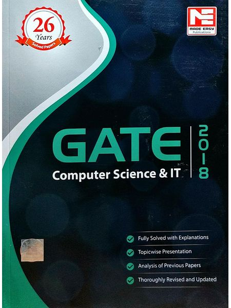 Made Easy Gate 2018 Computer Science And It Engineering Solved Papers By Made Easy Experts-(English)