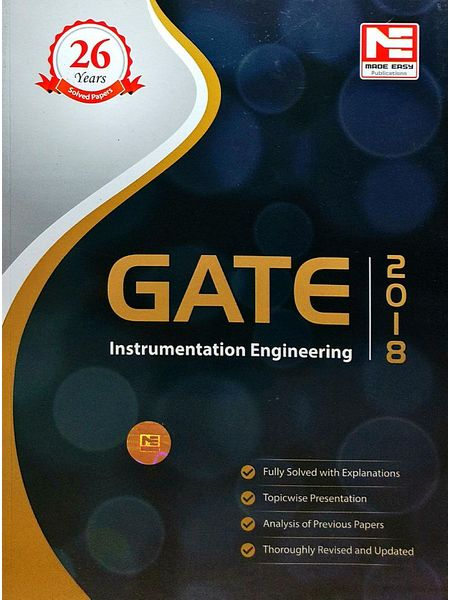 Gate 2018 Instrumentation Engineering Solved Papers By Made Easy Experts-(English)