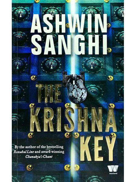 The Krishna Key By Ashwin Sanghi-(English)