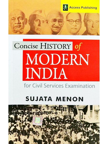 Concise History Of Modern India For Civil Services Examination By Sujata Menon-(English)