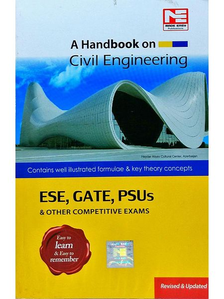 A Handbook On Civil Engineering Ese, Gate, Psus & Other Competitive Exams By Made Easy Experts-(English)