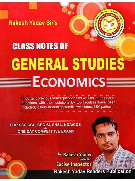 Class Notes Of General Studies Economics By Rakesh Yadav-(English)