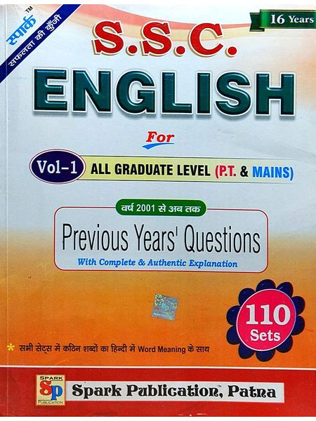 Ssc English Val 1 All Graduate Level Previous Years Question By Editorial-(English)