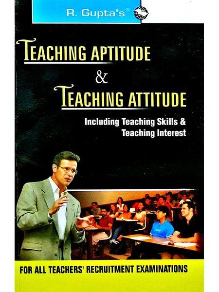 Teaching Aptitude & Teaching Atitude For All Teachers Recruitment Examinations By Rph Editorial Board-(English)