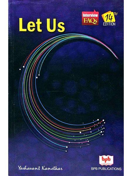 Let Us C By Yashavant Kanetkar-(English)