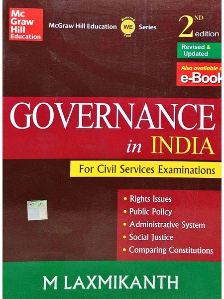 Governance In India By M Laxmikanth-(English)