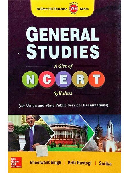 General Studies 1 Ncert By Sheelwant Singh, Kriti Rastogi, Sarika-(English)
