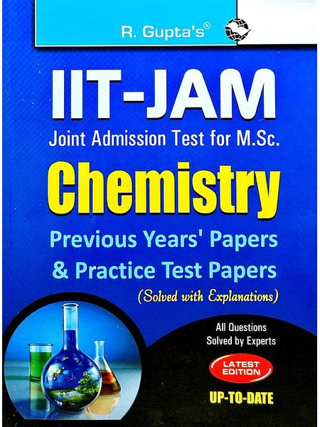 Iit-Jam M.Sc. Chemistry Previous Papers & Practice Test Papers Solved By Rph Editorial Board-(English)