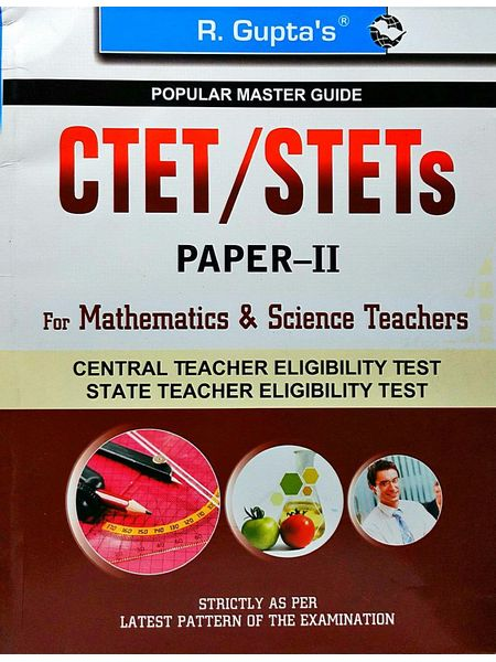 Ctet/Stets Papers 2 For Mathematics & Science Teachers By R Gupta Experts-(English)
