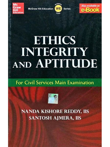 Ethics, Integrity And Aptitude By Santosh Ajmera, Nanda Kishore Reddy-(English)
