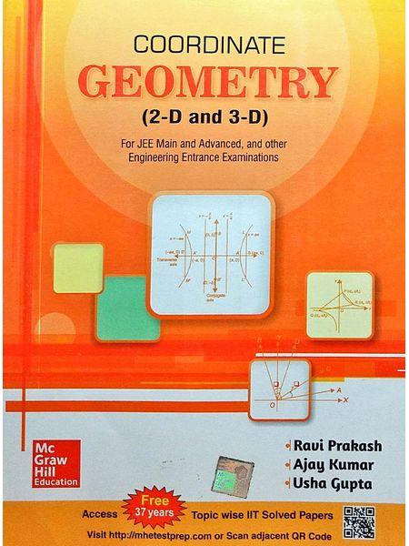 Co-Ordinate Geometry (2-D And 3-D) By Ravi Prakash, Ajay Kumar, Usha Gupta-(English)