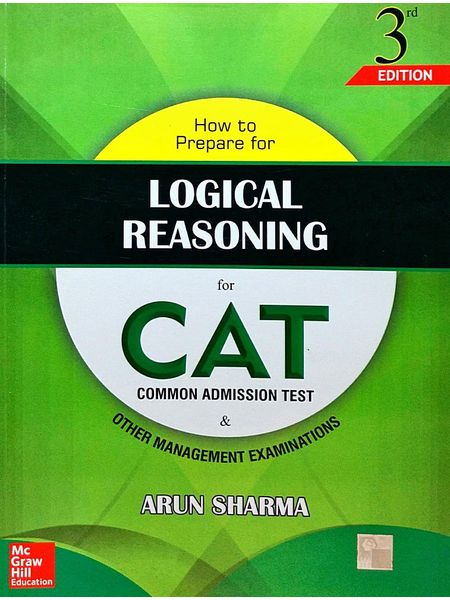 How To Prepare For Logical Reasoning For Cat By Arun Sharma-(English)