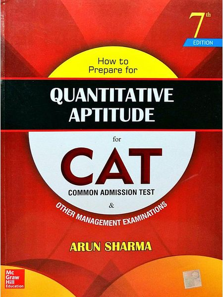 How To Prepare For Quantitative Aptitude For Cat By Arun Sharma-(English)