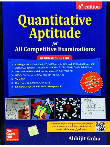 Quantitative Aptitude For Competitive Examination By Abhijit Guha-(English)