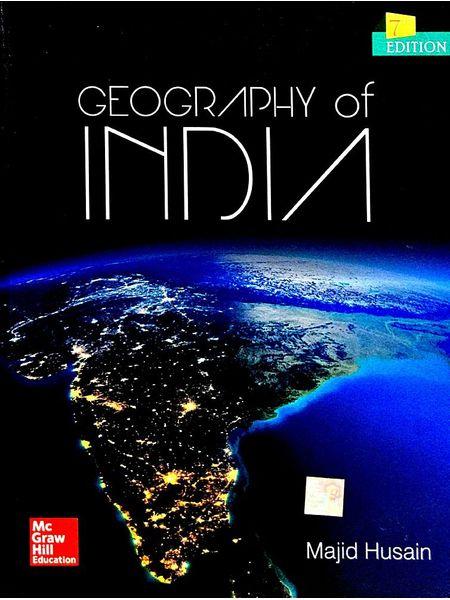 Geography Of India By Majid Husain-(English)