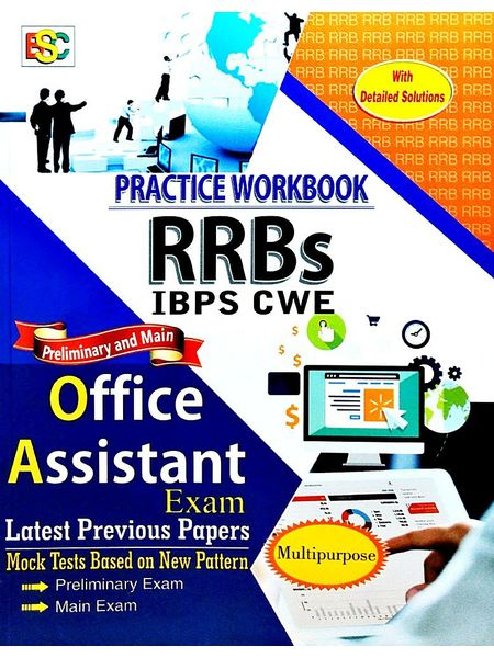Practice Workbook Rrbs Ibps Cwe Office Assistant Preliminary And Main Exam By K Kundan-(English)