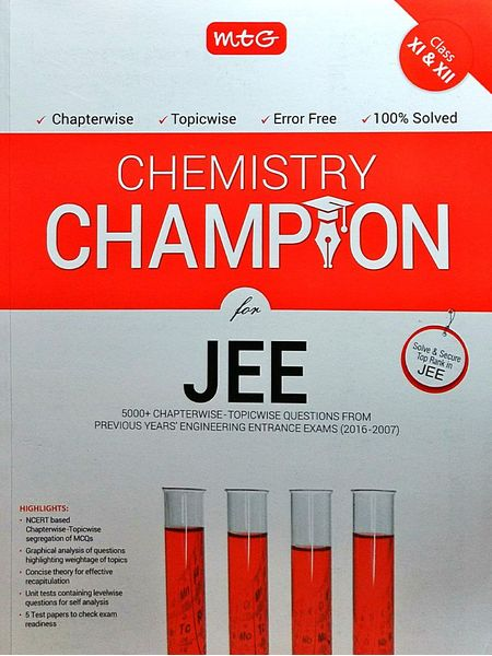 Chemistry Champion For Jee By Mtg Editorial Board-(English)