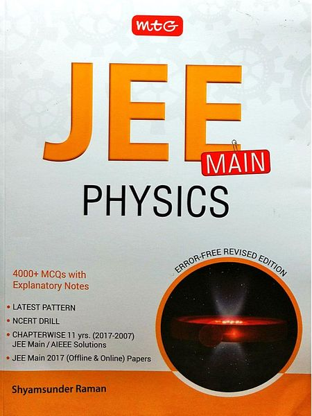 Jee Main Physics By Shyamsunder Raman-(English)