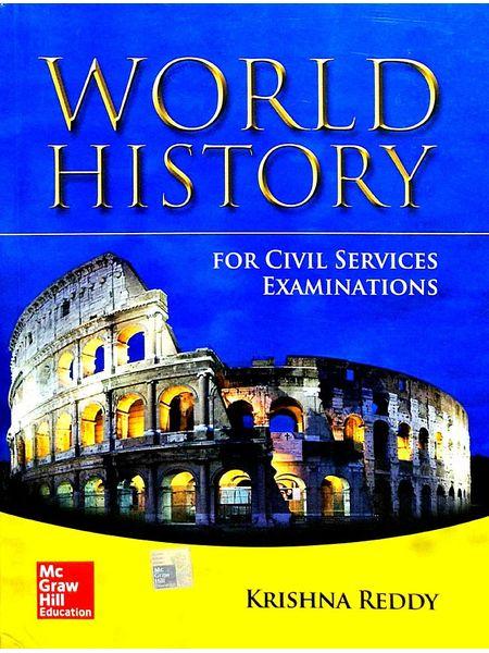 World History By Krishna Reddy-(English)