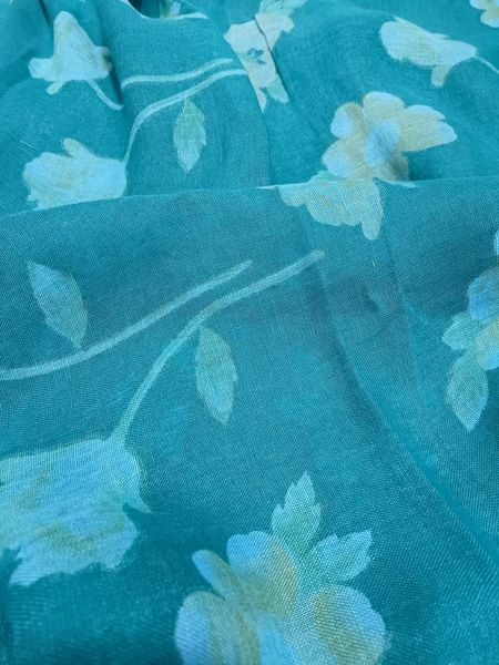 Chanderi Printed Cotton Fabric ( To book an option of 1.5,2.5,3.5 etc Please call us on 9930655009)