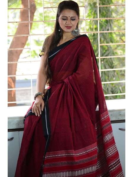 Pure Cotton Begumpuri Handloom Saree