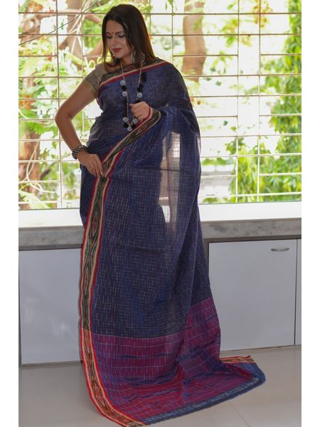 Pure Cotton Pochampally Saree