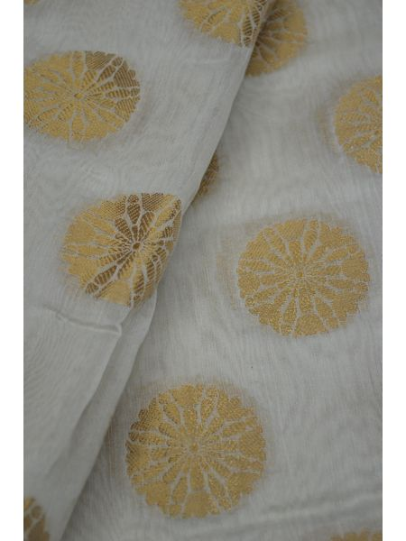Pure Chanderi Handloom Silk Fabric( To buy a quantity of 1.5,2.5,3.5 please call us on 9930655009)