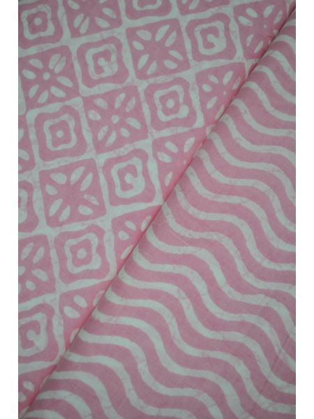 Pure Cotton Ikat Fabric ( To buy a quantity of 1.5, 2.5,3.5 please call us on 9930655009)