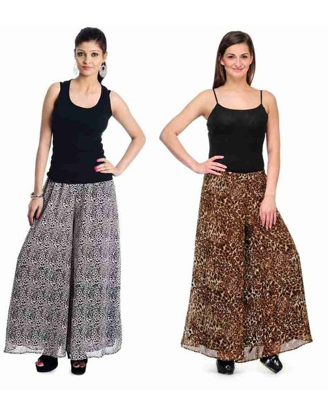 Georgette Palazzo Como Pack of 2