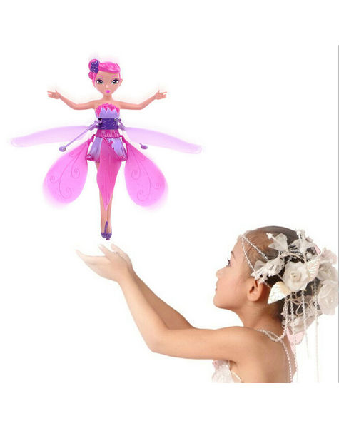 Barbie Doll -Magic Hand Induction Flying Princess