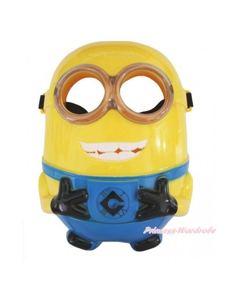 Minions Full Face LED Light Party Mask