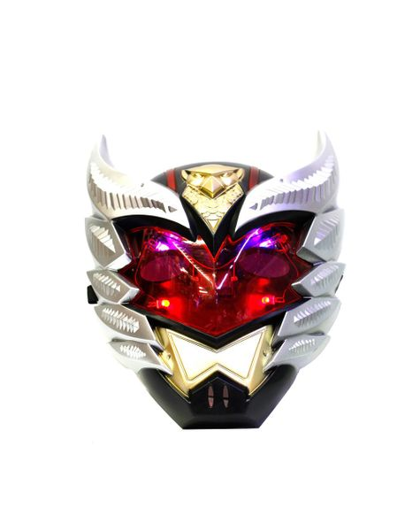 Ironman Full Face Party Mask with Flashing LED Light