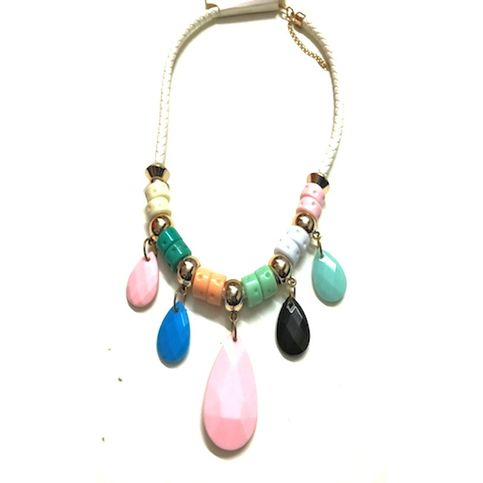 FUNKY MULTISTONE NECKLACE
