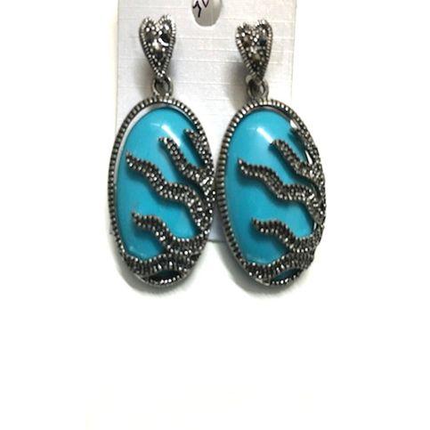TURKOISH BLUE EARRINGS