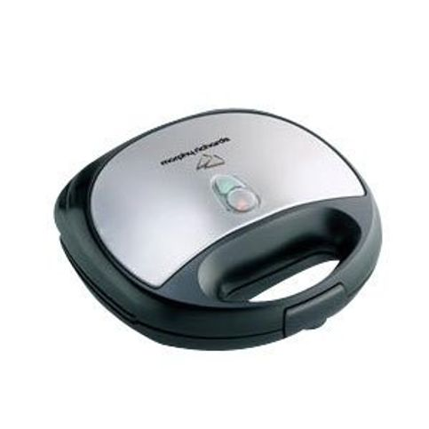 Morphy Richards   Sandwich Toaster 750 Watts Black with SS SM3006