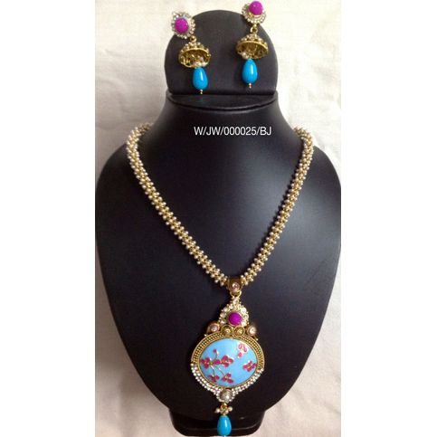 Ethenic Necklace Set